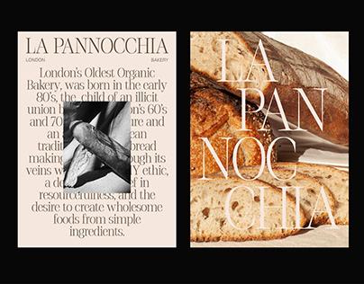 La Pannocchia - Bakery Rebranding