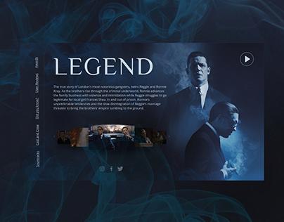 Main page Legend