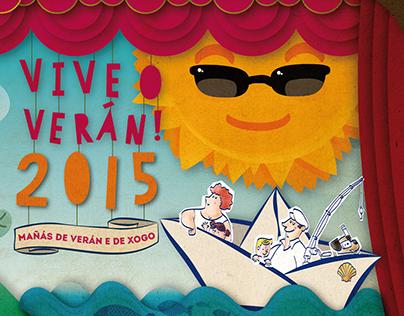 Vive o Verán 2015! (Enjoy Summer 2015!)
