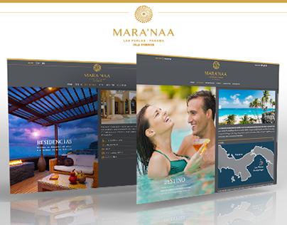 Web Design | Mara'naa