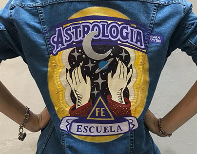 TAROT & ASTROLOGÍA - Custom Jacket