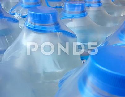 Blue Cap Pet Water Bottle Video Clip