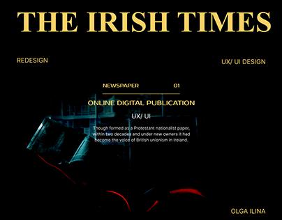 News website design development