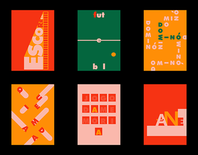 Brincar Posters l Graphic Design