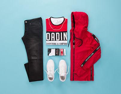 Siyah ve Kırmızının Uyumu / Street Style Kombin