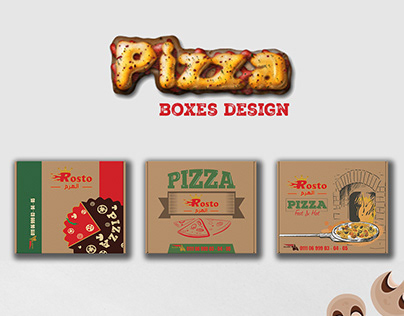 Pizza Boxes Design