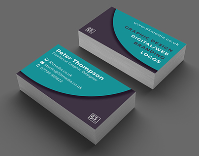 53 Media Business Card