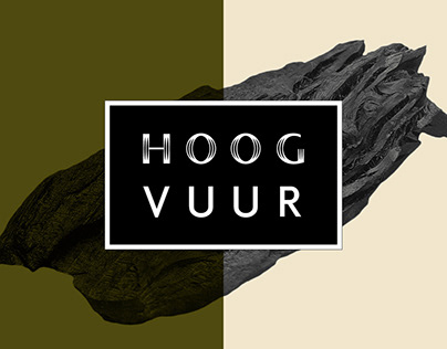 Visual brand identity & communication Hoog Vuur