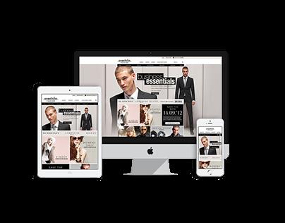 Engelhorn - Redesign Online Fashionstore
