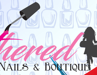Gathered Nails & Boutique Flyer