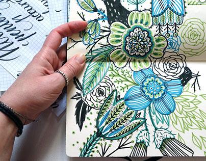 Sketchbook pages - part 3