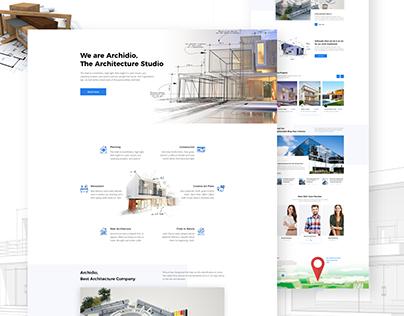 Creative Architecture Corporate Agency Website