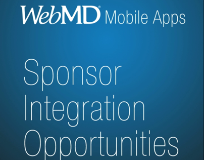 WebMD Native Mobile Ad Integrations