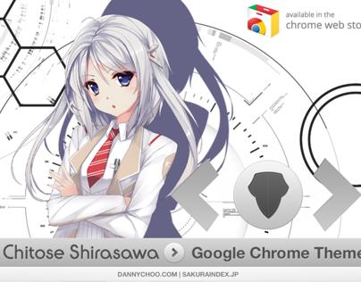 Chitose Shirasawa Google Chrome Theme