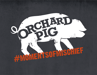 Orchard Pig #MomentsofMischief