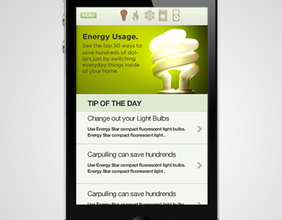 Saving Energy App