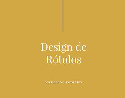 Rótulos | Doce Beijo Chocolates