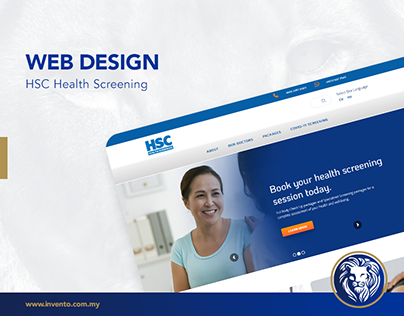 Web Design - HSC Health Screening