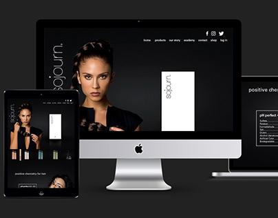 Multimedia rebranding Sojourn Beauty