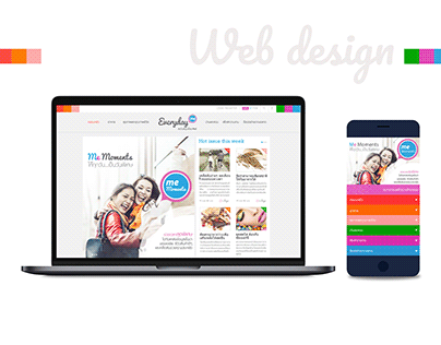 Design everyday website