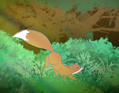 The Fox and The Butterfly - Animation