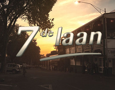 7de laan, logo and title sequence.