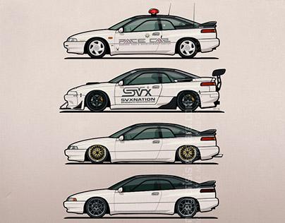Subaru / Alcyone SVX