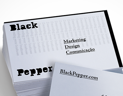 BlackPepper - Marketing firm (Branding)