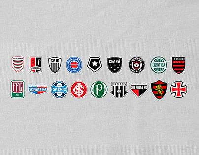 Logo Redesign - Times Brasileiros de Futebol