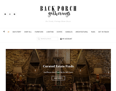 Back Porch Gatherings Website