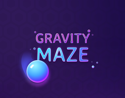 Mobile game UI   Gravity maze