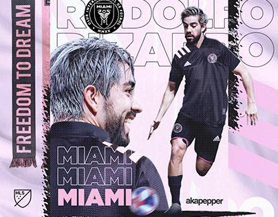 Inter Miami CF - New player Roldolfo Pizarro