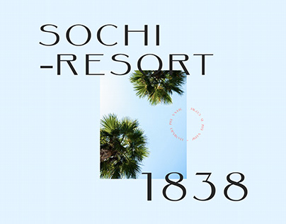 Sochi - Website Concept