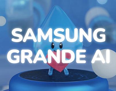 SAMSUNG GRANDE AI CHARACTER DESIGN