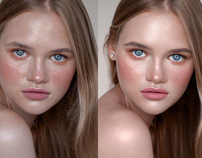 Beauty Retouch. Before&After