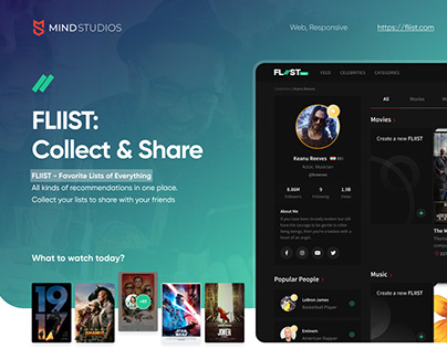 Fliist: Social Network Website Design Case Study