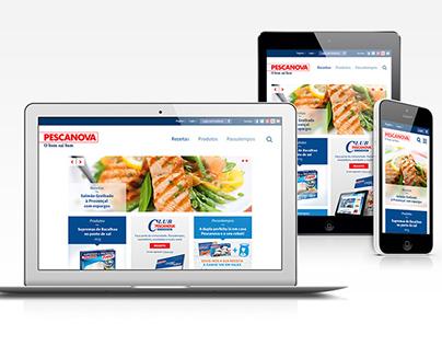 Pescanova - Website