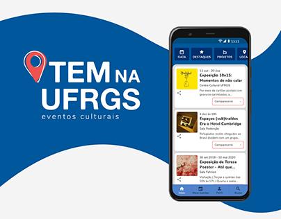 App Tem na UFRGS - Eventos Culturais