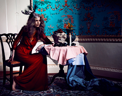 'Lady of the Manor' for Hunger Magazine Online