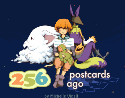 256 Postcards Ago - Rhyming Picture Book