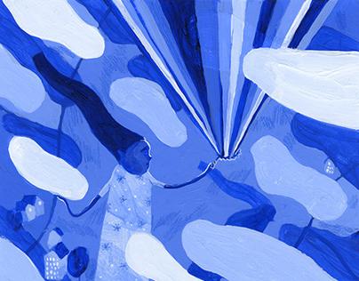 Lucid Dreaming, Editorial Illustration