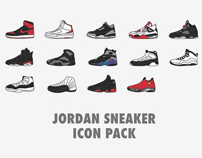 Free Jordan Sneaker Icons