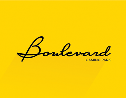 Boulevard Gaming Park - Diseño de Marca