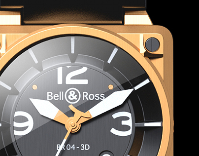 Bell & Ross / BR 04 - 3D