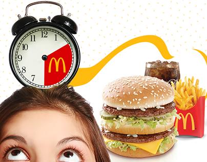 McDonald's Off-Peak Hedeflemeli Medya Kreatifleri