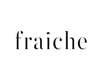 Fraiche French Fashion Boutique Branding + Editorial