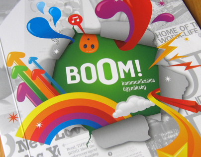 BoOM! Communication Agency introduction book