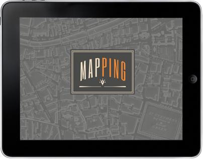 MapPing iPad App