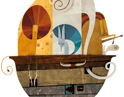 El arca de Noé / Iberoamérica ilustra