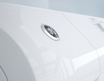 GE Brand Horizontal-Axis Washer and Dryer